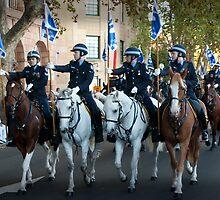 The Mounted Police by Darren Speedie