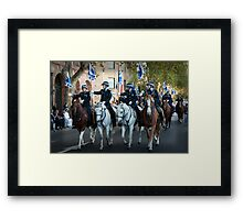 The Mounted Police Framed Print