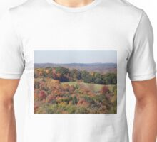 Colorful countryside Unisex T-Shirt