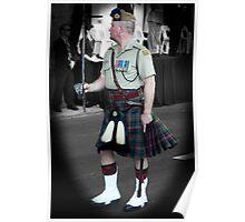 16th Battalion Cameron Highlander Poster