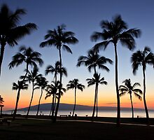 Kaanapali Beach Sunset by RJames