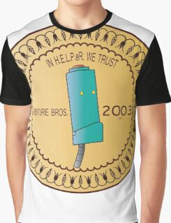 In H.E.L.P.eR. We Trust Venture Bros. Graphic T-Shirt