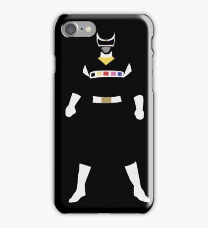 Power Rangers in Space Black Ranger iPhone Case/Skin