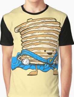 Captain Pancake Graphic T-Shirt