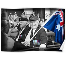 Anzacs Remembered Poster