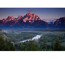 Teton Morning Photographic Print
