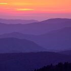 Day's End in the Smoky Mountains by andrewsound95