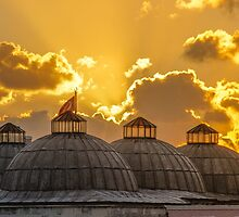 Domes of Old Istanbul by hayrettinsokmen