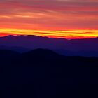 Smoky Mountain Sunset by andrewsound95