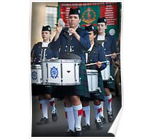 Presbyterian Ladies' College Pipe Band Poster