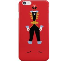 Power Rangers Super Mega Force Red Ranger  iPhone Case/Skin