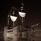 Old Water Ship by Naveen  Sharma