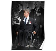 War Veterans Remembered Poster