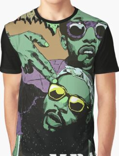 Flatbush Zombies Mraz Graphic T-Shirt