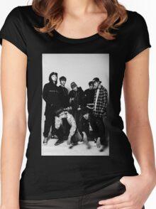 BTS COOL 当代歌坛 Women's Fitted Scoop T-Shirt