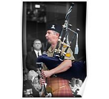 Australian Army Reserves Pipes and Drums Poster