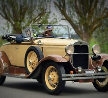 Ford Model A 1930 by Geoffrey Higges
