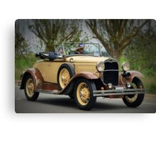 Ford Model A 1930 Canvas Print