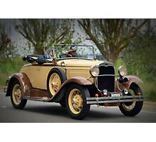Ford Model A 1930 Photographic Print