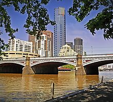19th Century Bridge to the 21st Century Southbank by TonyCrehan