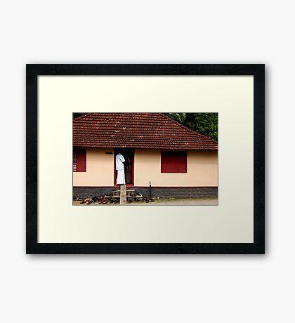 Inside Man Framed Print
