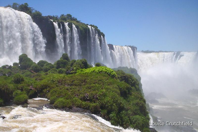 Iguacu Falls by Louise Crutchfield