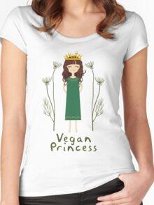 Vegan Princess Women's Fitted Scoop T-Shirt