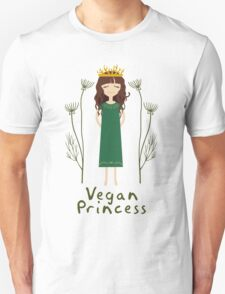 Vegan Princess Unisex T-Shirt