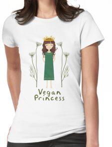 Vegan Princess Womens Fitted T-Shirt