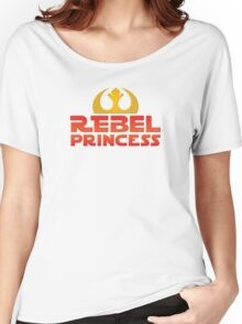 Rebel Princess Women's Relaxed Fit T-Shirt