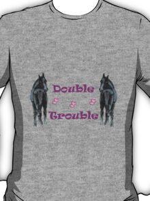 Cute Double Trouble Foals T-shirts T-Shirt