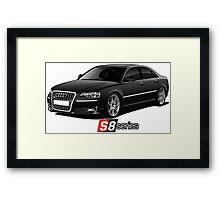 Audi S8 Framed Print
