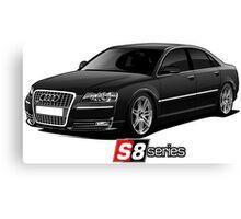 Audi S8 Canvas Print