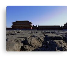 The Once Forbidden City (Zijin Cheng) # 5 Canvas Print