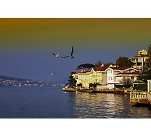The beauties of Bosphorus Photographic Print