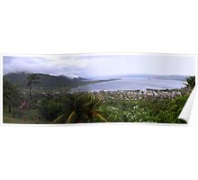 Simpson Harbour, Rabaul PNG Poster