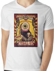 The Extraordinary Eyeball Kid: Sideshow Poster Mens V-Neck T-Shirt