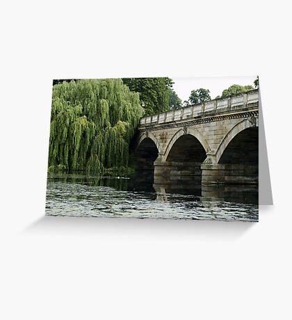 Bridge Over the Serpentine Greeting Card