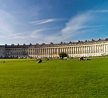 Architectural | The Royal Crescent by dzulnajmi