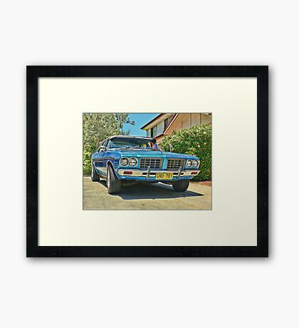 HQ Holden Premier Framed Print