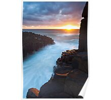 Fingal Head Light Poster