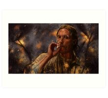 True Detective - Rust Cohle 2014 Art Print
