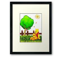 Winnie's Free Time Framed Print
