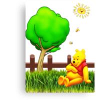Winnie's Free Time Canvas Print