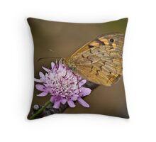 Common Brown Throw Pillow