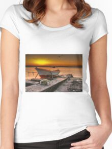 Ready for fishing Women's Fitted Scoop T-Shirt