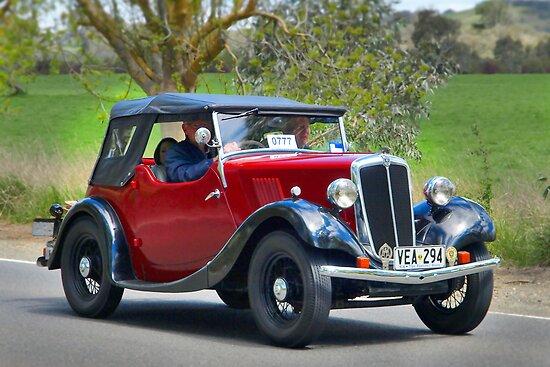 Morris Series 1 8-40 1936 by Geoffrey Higges