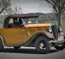 Morris Series 1 8-40 1937 by Geoffrey Higges