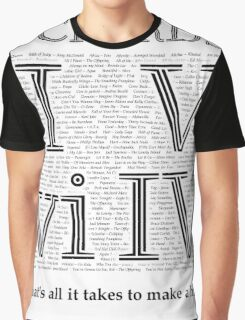 4 Chords Graphic T-Shirt