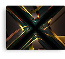 Fractal City Sky View Canvas Print